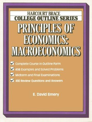 Emery Principles Economics: Macroeconomics - Emery, E.D.