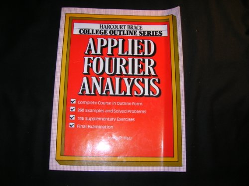 9780156016094: Applied Fourier Analysis (Harcourt Brace Jovanovich College Outline Series)