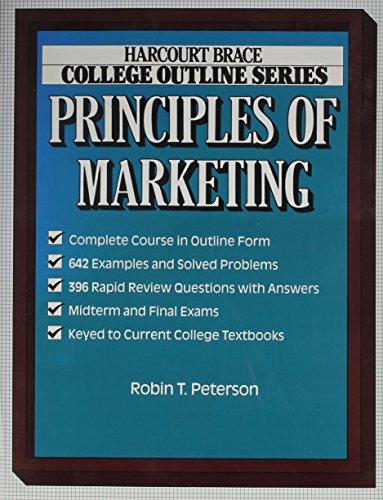 Principles of Marketing (Harcourt Brace Jovanovich College: Robin Peterson