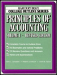 9780156016513: Principles of Accounting: 1 (Books for Professionals)