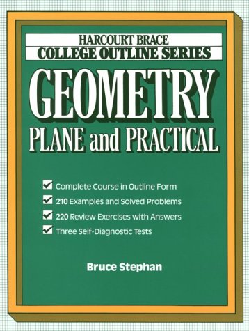 9780156016643: Geometry: Plane and Practical (Books for Professionals)