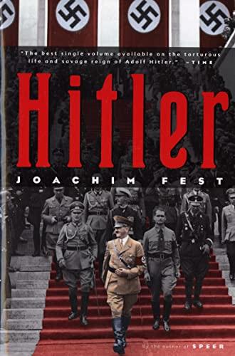 9780156027540: Hitler (Harvest Book)