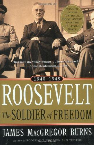 9780156027571: Roosevelt: Soldier of Freedom: Volume 2, 1940-1945