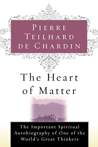 9780156027588: The Heart of Matter