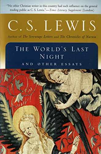 9780156027717: The World's Last Night: And Other Essays (Harvest Book)