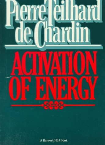 9780156028608: Activation Of Energy (Helen & Kurt Wolff Book)