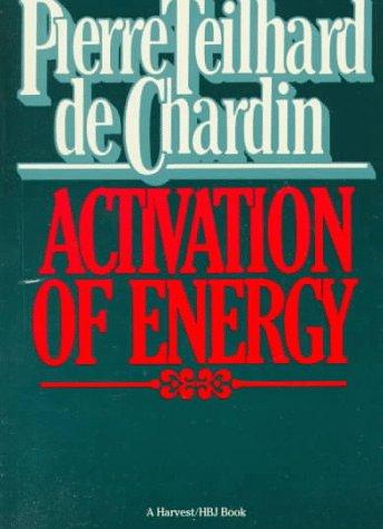 9780156028608: Activation Of Energy (Helen & Kurt Wolff Book)