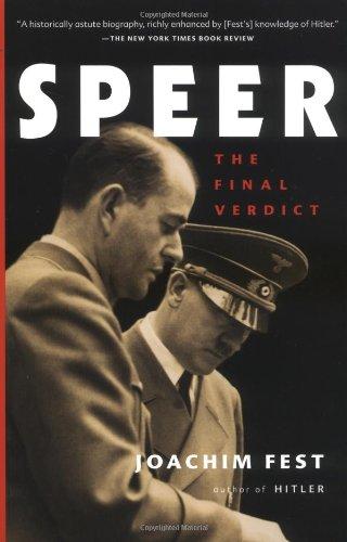 9780156028745: Speer: The Final Verdict