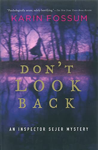 9780156031363: Don't Look Back (Inspector Sejer Mysteries)