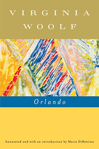 9780156031516: Orlando (Annotated): A Biography