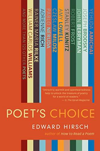 9780156032674: Poet's Choice