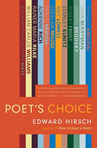 9780156032674: Poet's Choice
