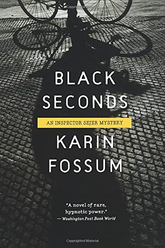 9780156034043: Black Seconds (Inspector Sejer Mysteries)