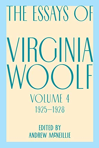 9780156035224: Essays of Virginia Woolf, Vol. 4, 1925-1928