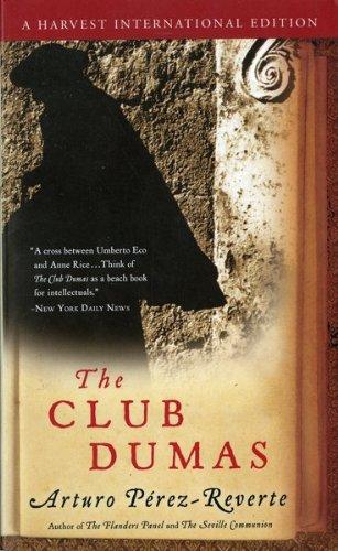 Club Dumas: Perez Reverte a