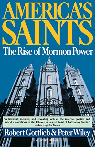 9780156056588: America's Saints: the Rise of Mormon Power (A Harvest/HBJ book)