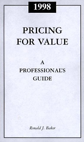 9780156062916: Professional Guide to Value Pricing