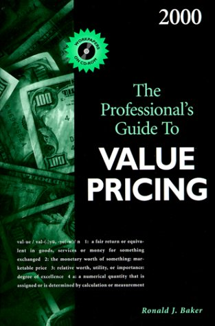 9780156069939: The Professional's Guide to Value Pricing 2000 [With CD-ROM]