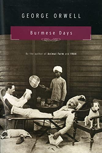 9780156148504: Burmese Days: A Novel