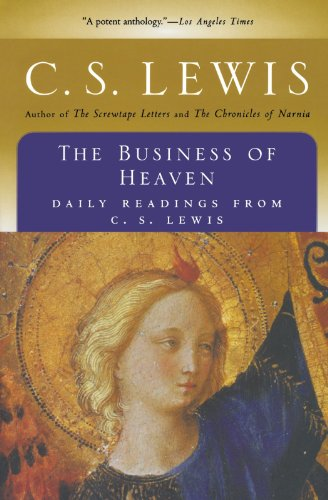 9780156148634: The Business of Heaven: Daily Readings from C. S. Lewis
