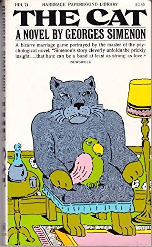 The Cat (Harbrace paperbound library): Simenon, Georges