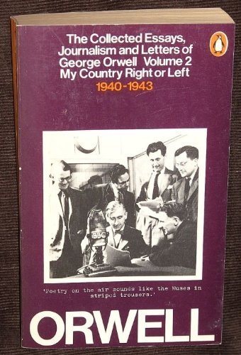9780156186247: Collected Essays, Journalism and Letters of George Orwell