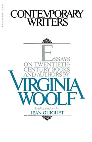 9780156214506: Contemporary Writers: Essays on Twentieth-Century Books and Authors