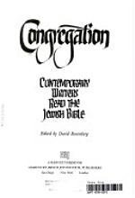 9780156220408: Congregation: Contemporary Writers Read the Jewish Bible