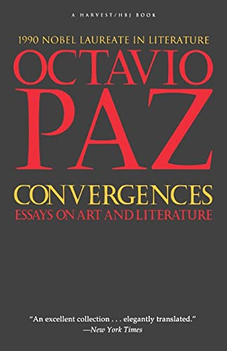 9780156225861: Convergences: Essays on Art and Literature
