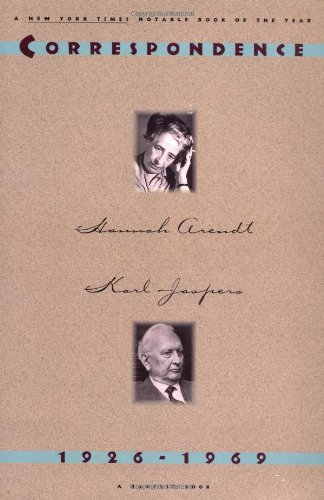 9780156225991: Hannah Arendt and Karl Jaspers: Correspondence: 1926-1969