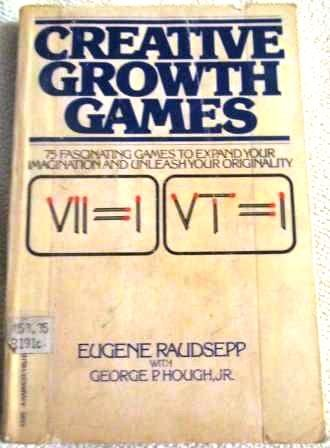 9780156227353: Creative Growth Games (A Harvest/HBJ book)
