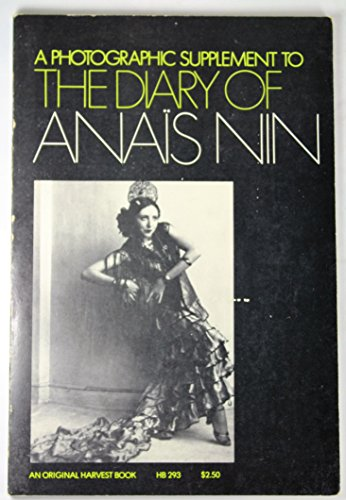 9780156260244: Photographic Supplement to the Diary of Anais Nin