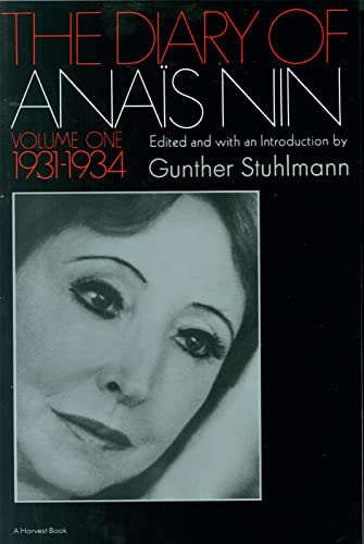 9780156260251: The Diary of Anais Nin 1931-1934: 001