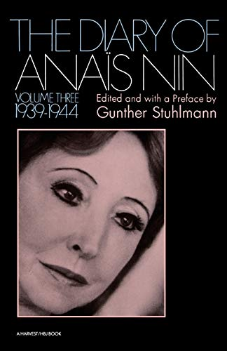 9780156260275: The Diary of Anais Nin Volume 3 1939-1944: Vol. 3 (1939-1944): 003
