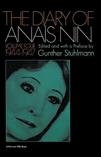 The Diary of Anais Nin, Vol. 4: Anaàs Nin