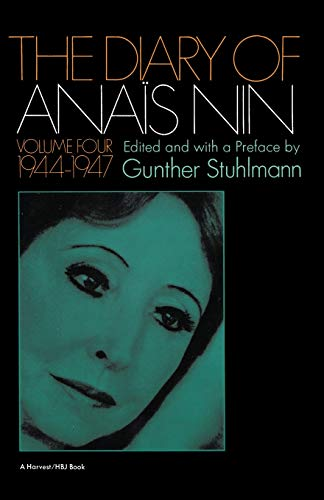 9780156260282: The Diary of Anais Nin, Vol. 4: 1944-1947