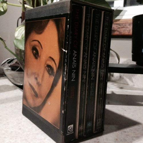 9780156260299: The Diary of Anais Nin (Box Set) Complete in 4 Volumes