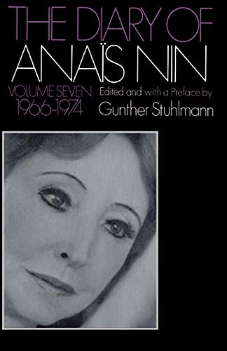 9780156260350: The Diary of Anais Nin, 1966-1974