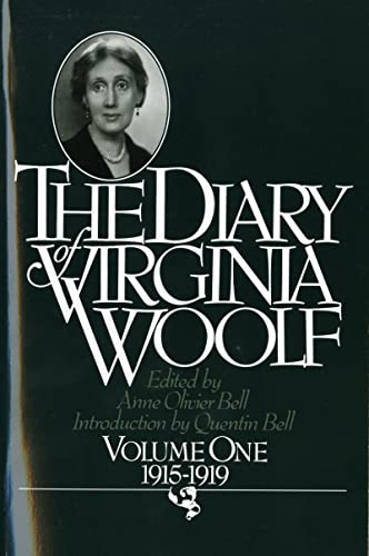 9780156260367: The Diary of Virginia Woolf: Vol. 1, 1915-1919: 001