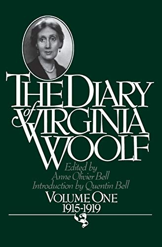 9780156260367: The Diary of Virginia Woolf: 001