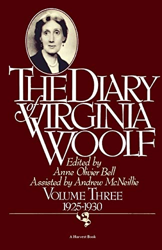 9780156260381: The Diary of Virginia Woolf, Vol. 3: 1925-30