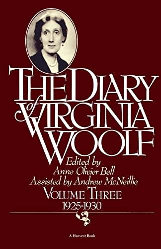 9780156260381: The Diary of Virginia Woolf, Vol. 3: 1925-30