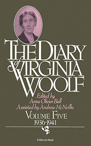 9780156260404: The Diary of Virginia Woolf, Vol. 5: 1936-41