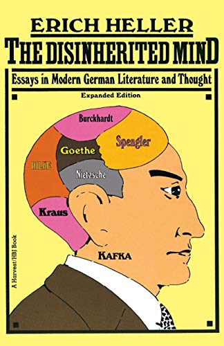 9780156261005: Disinherited Mind: Essays in Modern German Literature and Thought