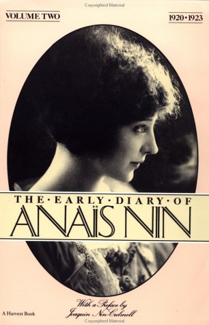 9780156272483: The Early Diary of Anais Nin, Vol. 2. (1920-1923)