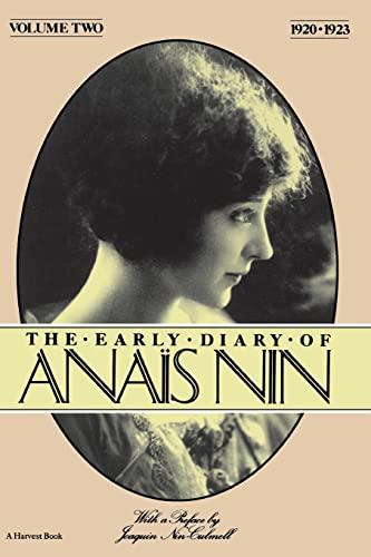 9780156272483: The Early Diary of Anais Nin, Vol. 2. (1920-1923)