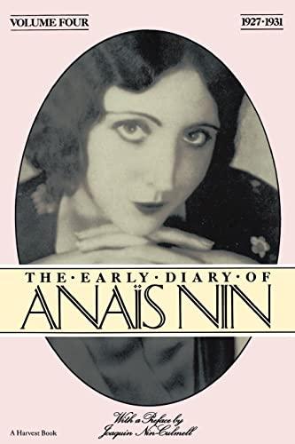 9780156272513: The Early Diary of Anais Nin: 1927-1931: 4