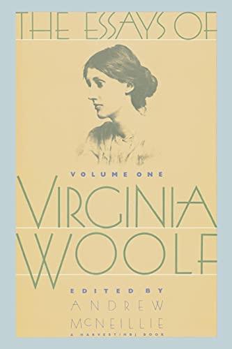 9780156290548: Essays of Virginia Woolf: 1904-1912: 001