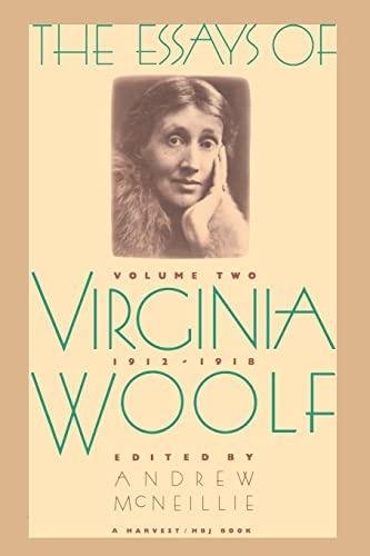 The Essays of Virginia Woolf, Vol. 2: Woolf, Virginia; Andrew
