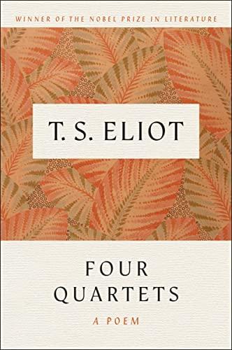 9780156332255: Four Quartets